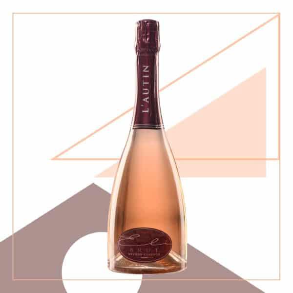 Eli Brut Metodo Classico Rosé: spumante rosé affinato in miniera.