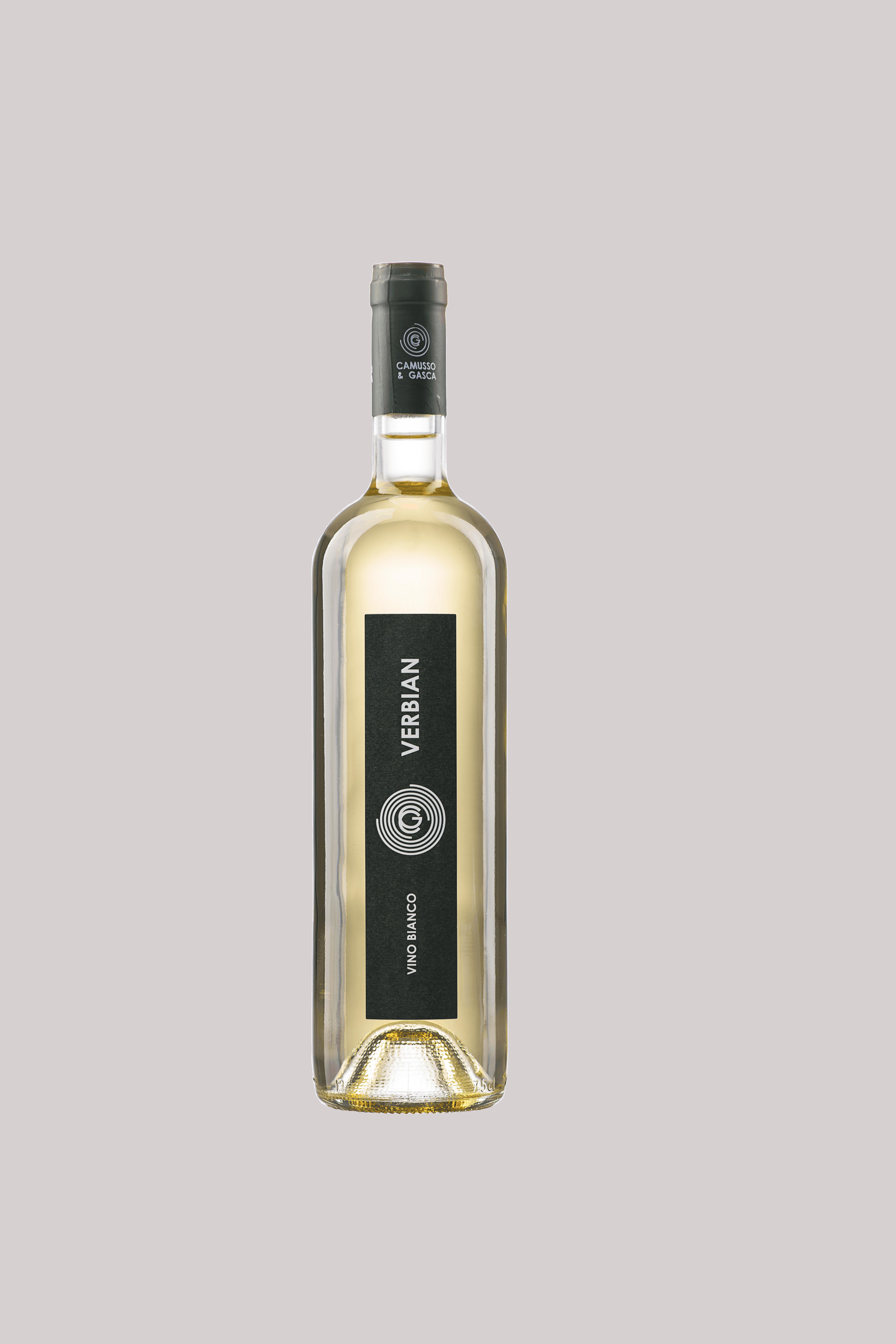Verbian: vino bianco biologico particolare.